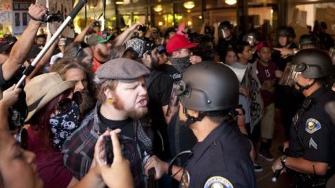 Anaheim rioter