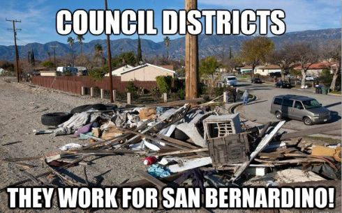San Berdoo council districts