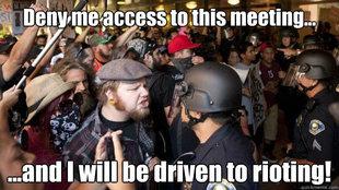 Anaheim rioter meme 1