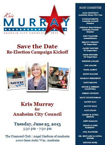 Kris Murray fundraiser
