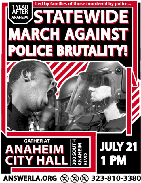answerla anaheim march