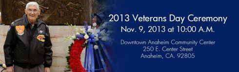 Anaheim Veterans Day