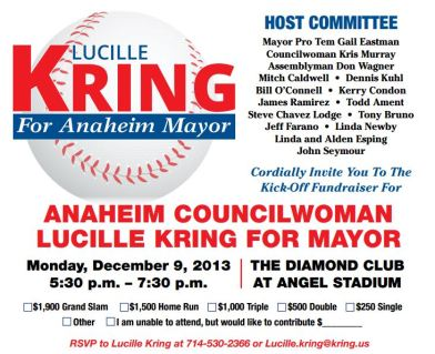 Kring mayoral fundraiser