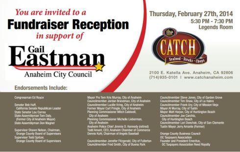 Eastman 2-27-14 fundraiser'