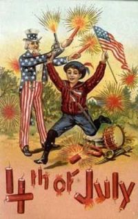july 4 fireworks patriotic