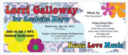 Lorri Galloway 60s fundraiser'