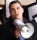 Jose Moreno megaphone cropped