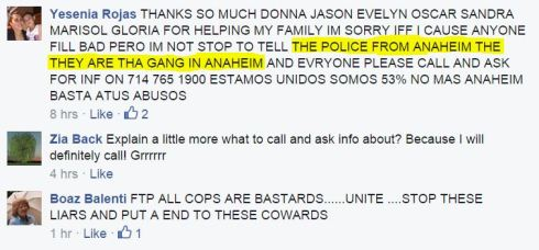 rojas cops are gang